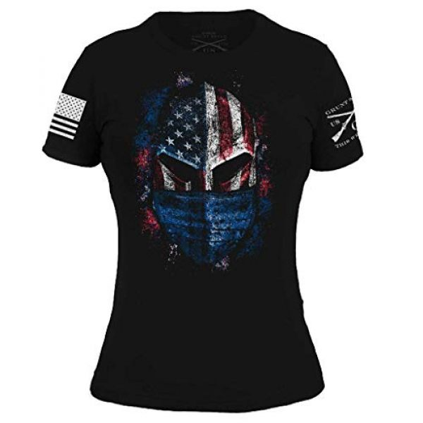 Grunt Style Graphic Tshirt 1 American Spartan Prepared - Women's T-Shirt