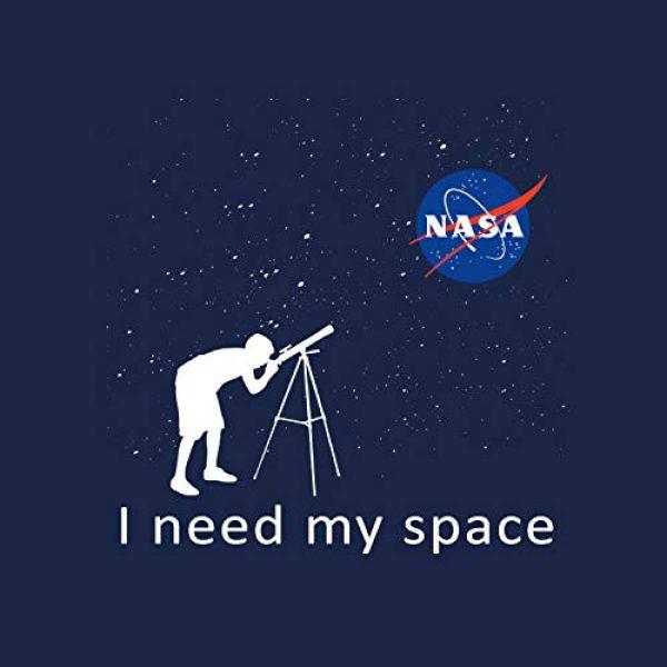 Market Trendz Graphic Tshirt 2 Official Logo NASA I Need My Space | NASA T Shirts Kids | NASA Clothing Men