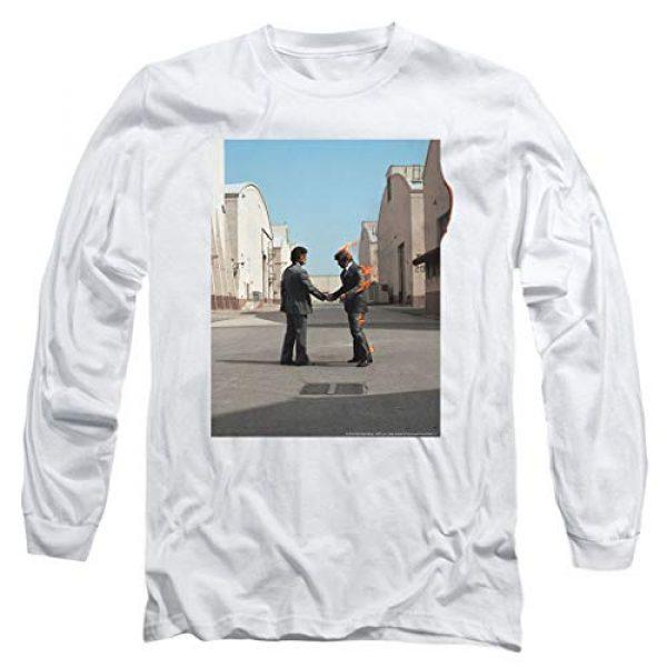Popfunk Graphic Tshirt 1 Pink Floyd Wish You were Here Rock Album Longsleeve T Shirt & Stickers