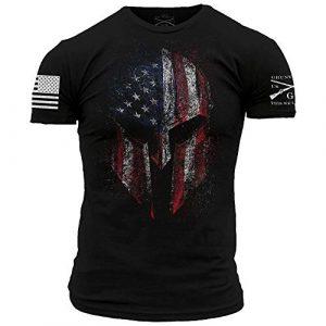 Grunt Style Graphic Tshirt 1 American Spartan 2.0 - Men's T-Shirt