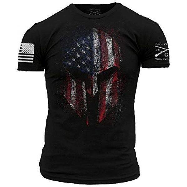 Grunt Style Graphic Tshirt 1 American Spartan 2.0 - Men's T-Shirt