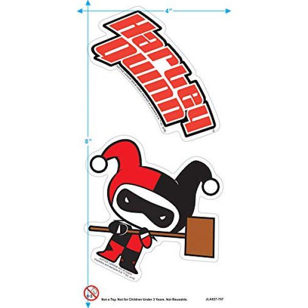 Popfunk Graphic Tshirt 3 Harley Quinn Chibi Women's T Shirt & Stickers