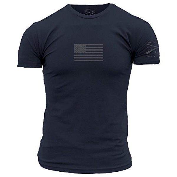Grunt Style Graphic Tshirt 1 Basic Flag Men's T-Shirt