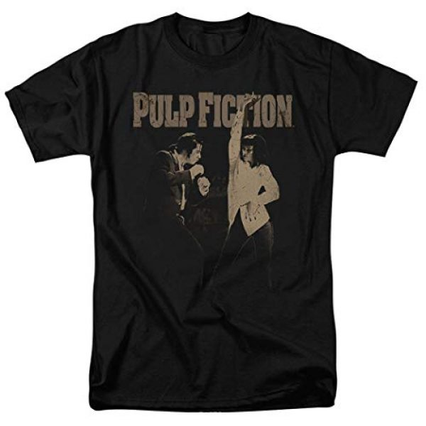 Popfunk Graphic Tshirt 1 Pulp Fiction Movie Uma Thurman John Travolta T Shirt & Stickers