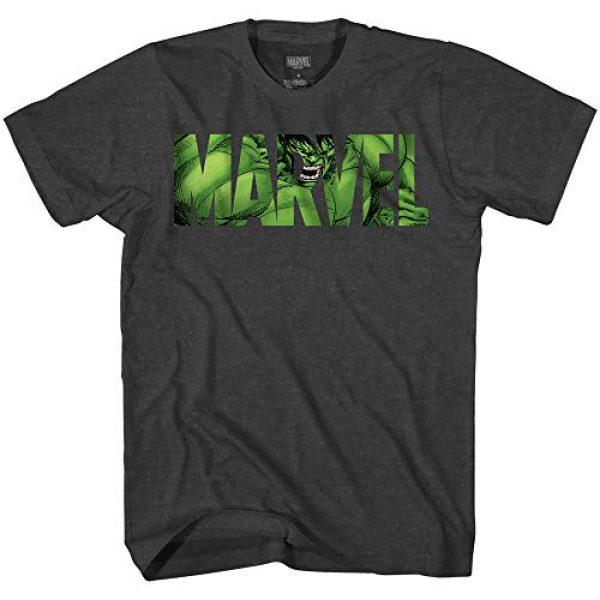 Marvel Graphic Tshirt 1 Logo Hulk Avengers Super Hero Adult Tee Graphic T-Shirt for Men Tshirt Clothing