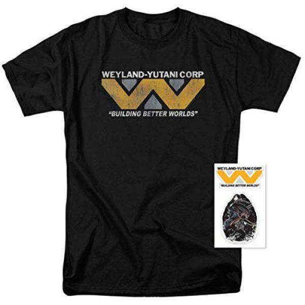 Popfunk Graphic Tshirt 2 Alien Movie Weyland-Yutani The Company T Shirt & Stickers