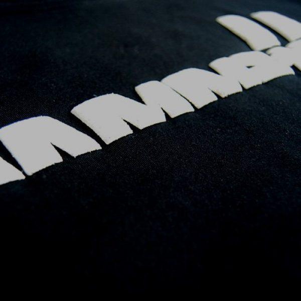 Rammstein Graphic Tshirt 3 T-Shirt Weisse Balken