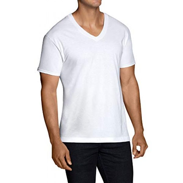Fruit of the Loom Graphic Tshirt 2 Men's Stay Tucked V-Neck T-Shirt