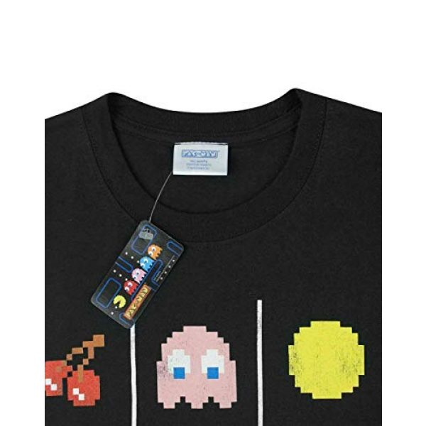 """Pac-Man Graphic Tshirt 4 """"Game Over Men's Official Tic Tac Toe Retro Character T-Shirt"""