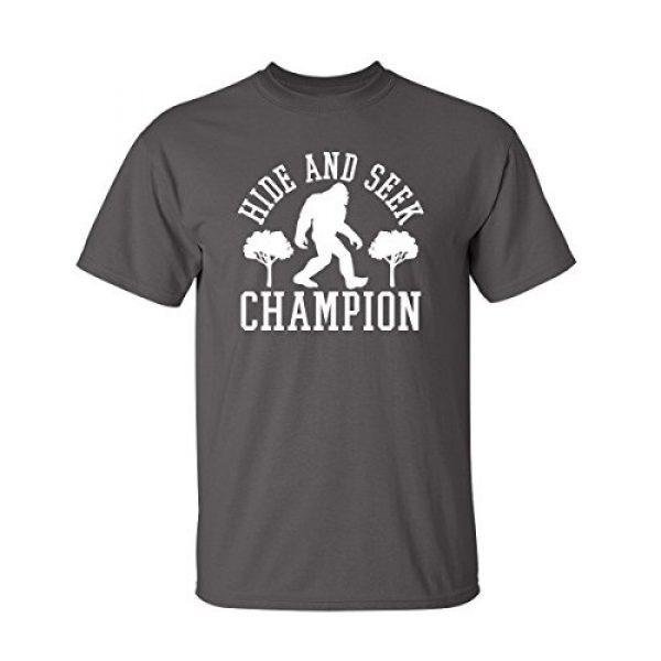 Feelin Good Tees Graphic Tshirt 1 Bigfoot Hide and Seek Graphic Novelty Sarcastic Funny T Shirt