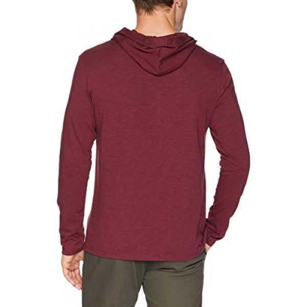 Goodthreads Hoodie 3 Amazon Brand - Goodthreads Men's Lightweight Slub T-Shirt Hoodie