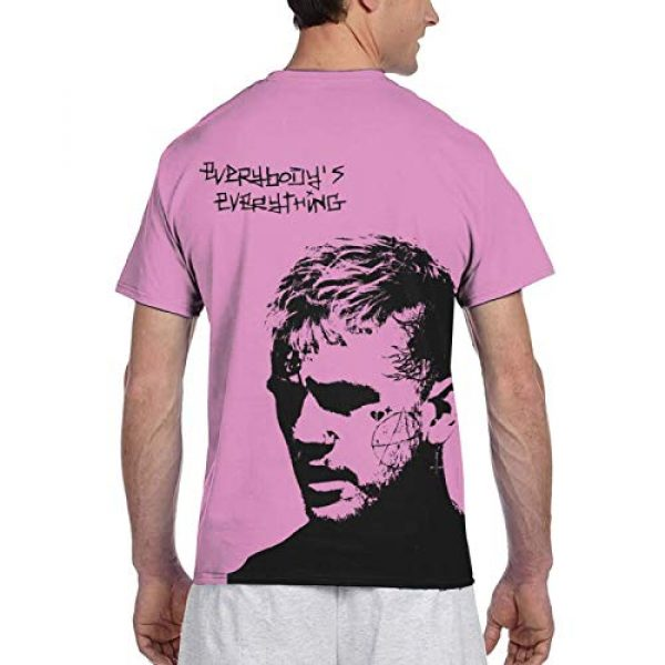YFCTYLS Graphic Tshirt 2 Lil Peep Man Novelty 3D Printed Short Sleeve T-Shirt