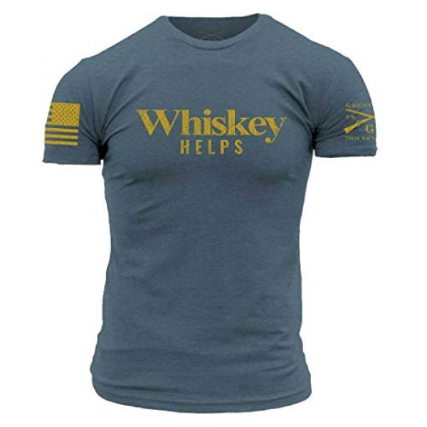 Grunt Style Graphic Tshirt 1 Whiskey Helps