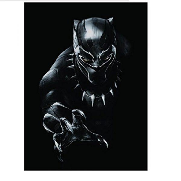 Marvel Graphic Tshirt 2 Black Panther Mens Black T-Shirt