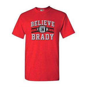 Beach Open Graphic Tshirt 1 Believe in Brady Football Tampa Bay Sports Fan Wear DT Adult T-Shirt Tee