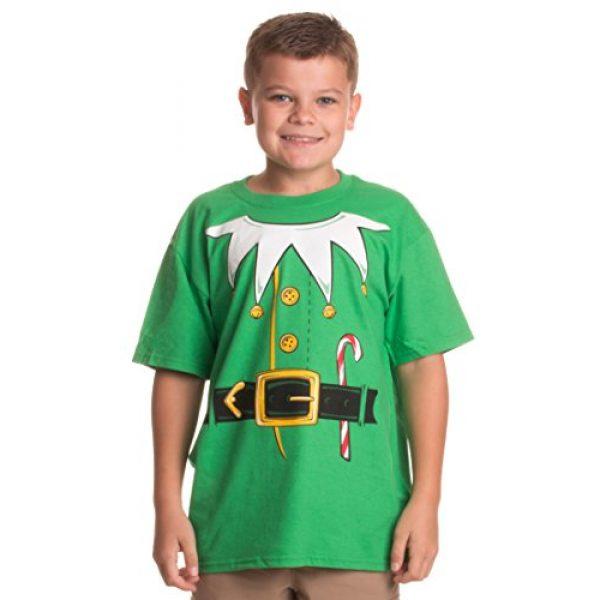 Ann Arbor T-shirt Co. Graphic Tshirt 1 Santa's Elf Costume | Jumbo Print Novelty Christmas Holiday Humor Youth T-Shirt