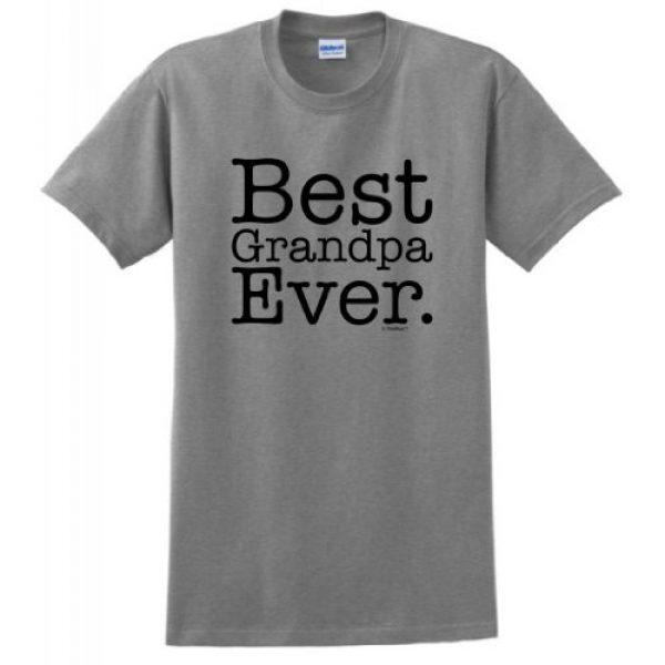 ThisWear Graphic Tshirt 1 Best Grandpa Ever T-Shirt