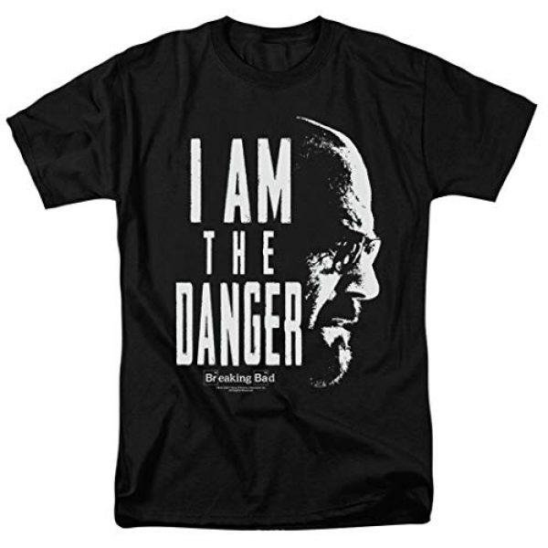 Popfunk Graphic Tshirt 1 Breaking Bad The Danger T Shirt & Stickers (Medium)