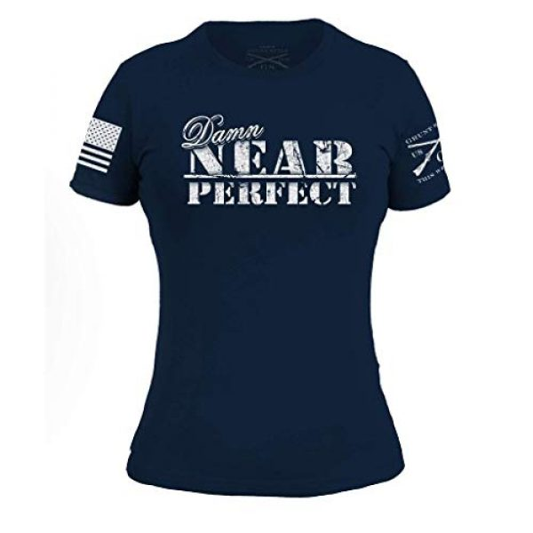 Grunt Style Graphic Tshirt 1 Damn Near Perfect Women's T-Shirt