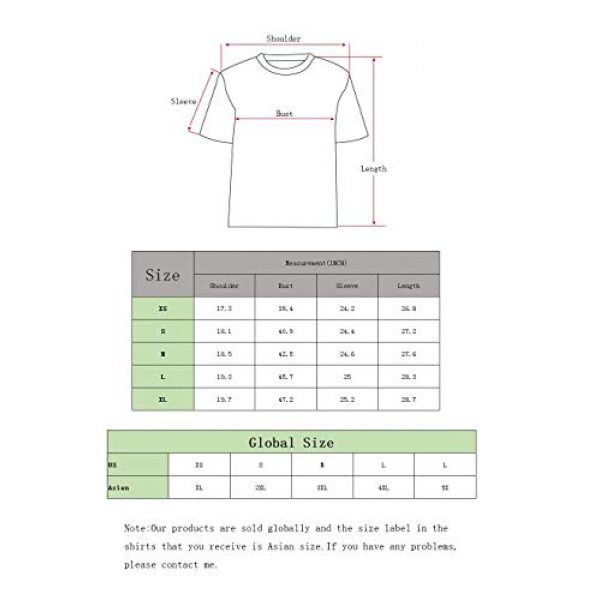 FRTCV Graphic Tshirt 2 Mens Short Sleeve T-Shirt Casual Tops Tee Classic Fit Basic Shirts