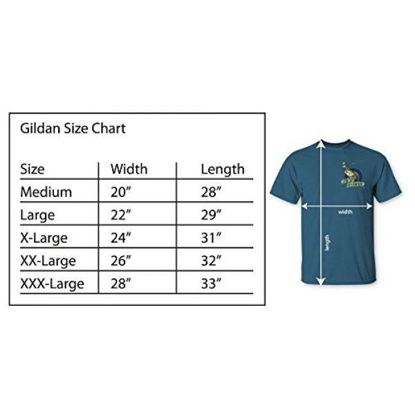 Follow the Action Graphic Tshirt 6 Walleye Hunter Fishing T-Shirt and Mug Premium Gift Set