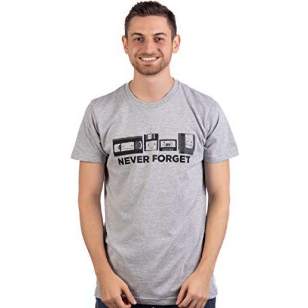 Ann Arbor T-shirt Co. Graphic Tshirt 2 Never Forget | Funny Nerd Humor Nostalgia Old 1990s 90s 1980s 80s Joke Fun T-Shirt
