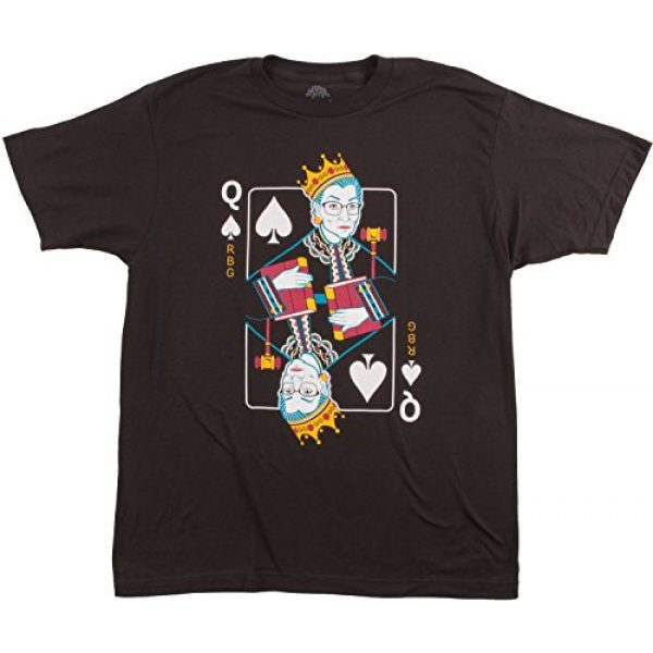 Ann Arbor T-shirt Co. Graphic Tshirt 1 Queen R.B.G. Funny Progressive Liberal Ruth Bader Ginsburg Unisex RBG T-Shirt