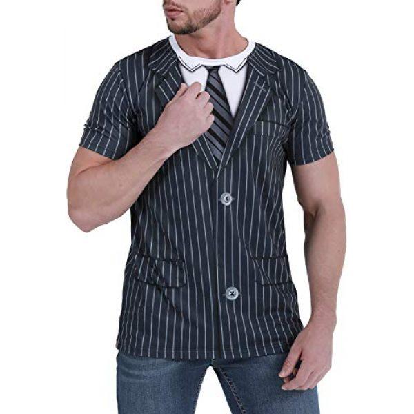 Funny World Graphic Tshirt 2 Tuxedo T-Shirts for Men