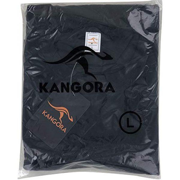 Kangora Graphic Tshirt 5 Mens Plain Raglan Baseball Tee T-Shirt Unisex 3/4 Sleeve Casual Athletic Performance Jersey Shirt