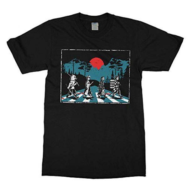 Tee No Evil Graphic Tshirt 1 Demon Slayer Abbey Road Tanjiro Nezuko Zenitsu Inosuke T Shirt