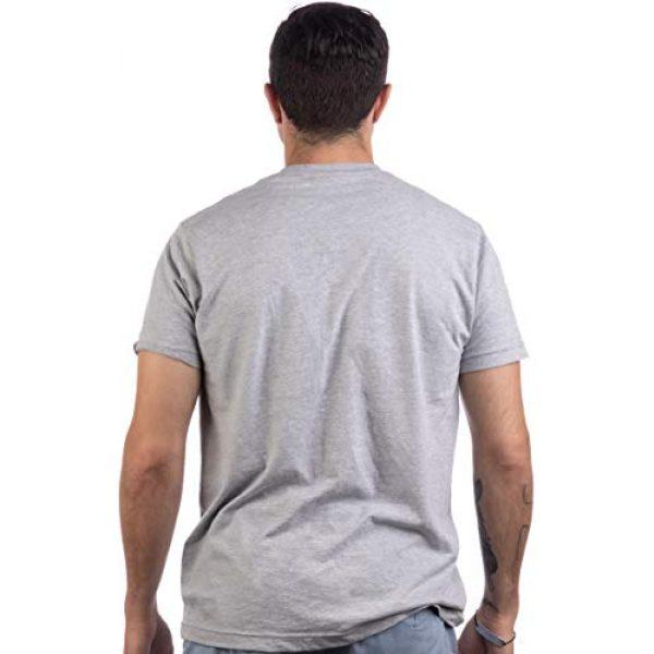 Ann Arbor T-shirt Co. Graphic Tshirt 4 Grandpa: Man, Myth, Bad Influence | Funny Dad Joke Papa Grandfather Humor Shirt for Men T-Shirt