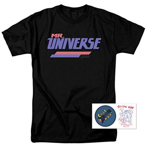 Popfunk Graphic Tshirt 2 Steven Universe Mr. Universe Cartoon Network T Shirt & Stickers