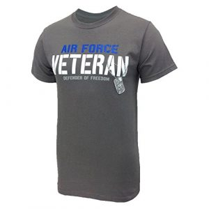 Armed Forces Gear Graphic Tshirt 1 Air Force Men's Veteran Defender T-Shirt
