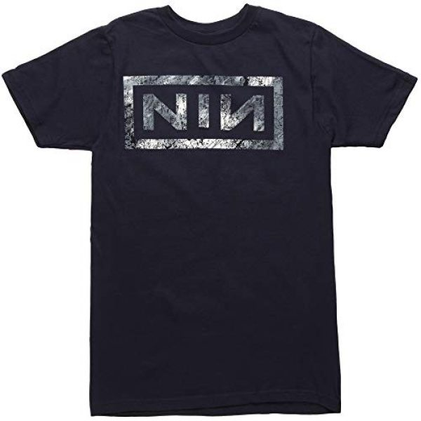 Nine Inch Nails Graphic Tshirt 1 Distressed Logo T-Shirt