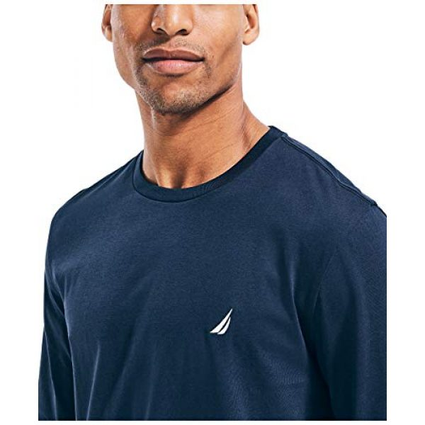 Nautica Graphic Tshirt 4 Men's J-Class Logo Long Sleeve T-Shirt