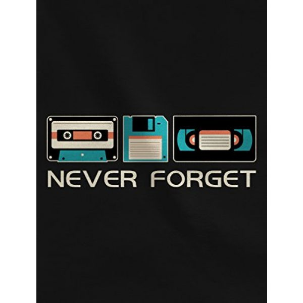 Tstars Graphic Tshirt 2 Never Forget Sarcastic Gift Music Novelty Funny Retro Father's Day T-Shirt