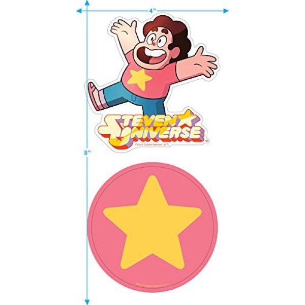 Popfunk Graphic Tshirt 3 Steven Universe Gems Cartoon Network T Shirt & Stickers