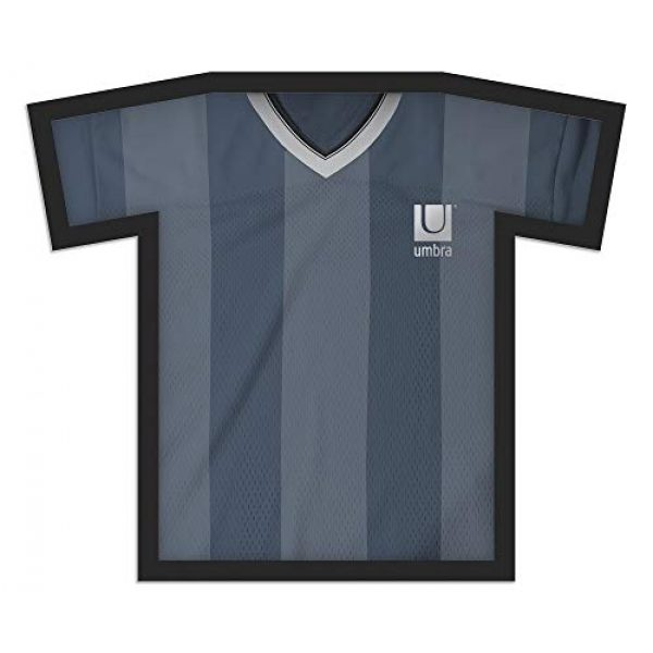 Umbra Graphic Tshirt 1 Umbra T-frame Unique Display Case to Showcase Adult Sized T-Shirts (Small to Large), Medium, Black
