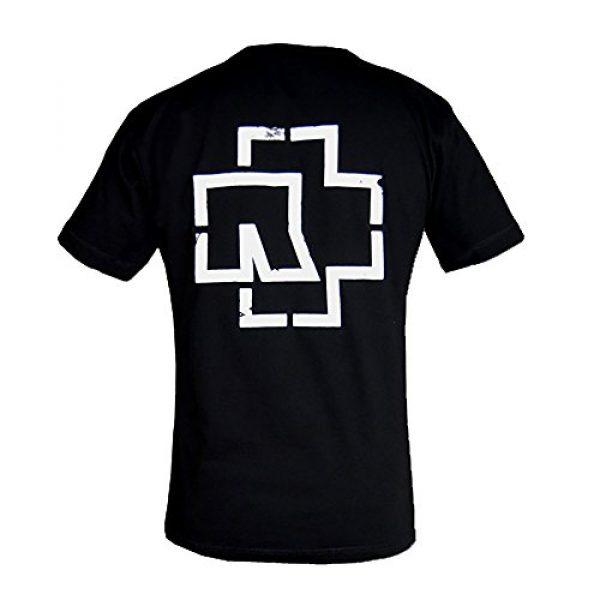 Rammstein Graphic Tshirt 2 T-Shirt Weisse Balken