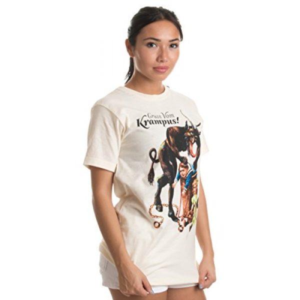 Ann Arbor T-shirt Co. Graphic Tshirt 5 Gruss Vom Krampus!   (Greetings from) Germanic Christmas Demon Unisex T-Shirt
