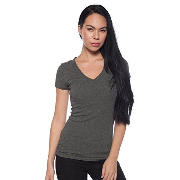 Zenana Outfitters Graphic Tshirt 3 4 Pack Zenana Women's Basic V-Neck T-Shirts