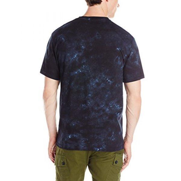 Liquid Blue Graphic Tshirt 2 Men's Led Zeppelin USA Tour '77 T-Shirt