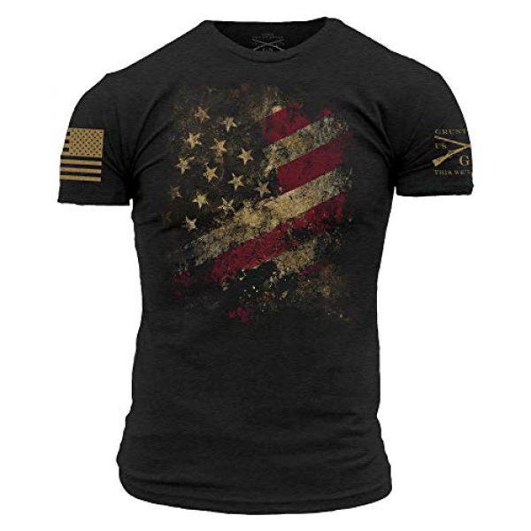 Grunt Style Graphic Tshirt 1 Worn Flag 2.0 Men's T-Shirt