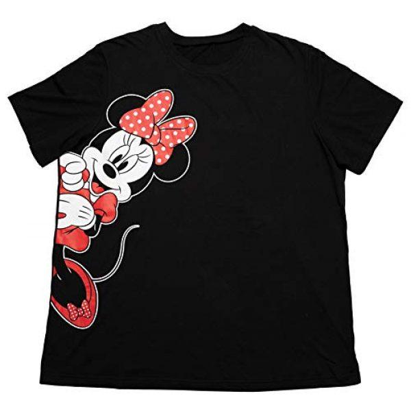 Disney Graphic Tshirt 4 Womens Plus Size T-Shirt Minnie Mouse Print Black