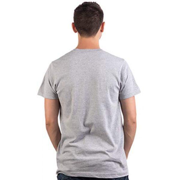 Ann Arbor T-shirt Co. Graphic Tshirt 4 Never Forget | Funny Nerd Humor Nostalgia Old 1990s 90s 1980s 80s Joke Fun T-Shirt