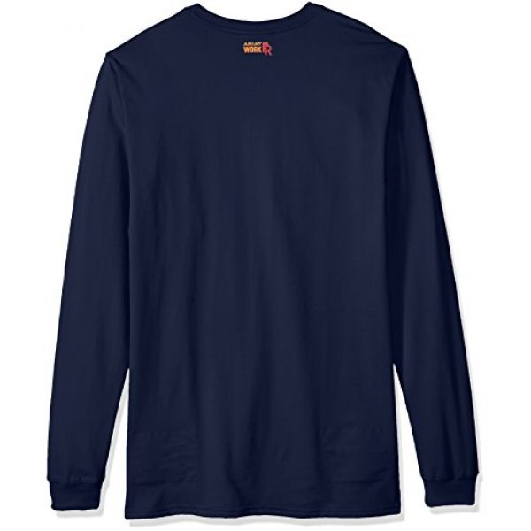 ARIAT Graphic Tshirt 2 Men's Big and Tall Flame Resistant Long Sleeve Logo Work Crewhenley Shirt