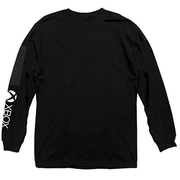 Ripple Junction Graphic Tshirt 2 Xbox Adult Unisex Heavy Weight 100% Cotton Long Sleeve Crew T-Shirt
