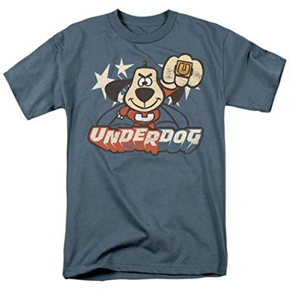 Popfunk Graphic Tshirt 1 Underdog Flying Logo Retro Cartoon T Shirt & Stickers