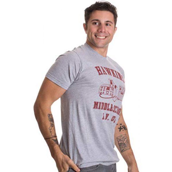 Ann Arbor T-shirt Co. Graphic Tshirt 3 Hawkins Middle School A.V. Club | Vintage Style 80s Costume AV Hawkin T-Shirt
