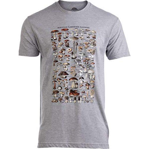 Ann Arbor T-shirt Co. Graphic Tshirt 1 Vintage Mushrooms Illustration   Morel Hunter Shroom Nature Art Men Women T-Shirt